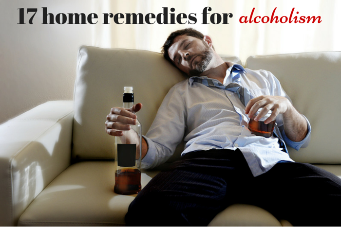 home remedies for alcoholics and alcoholism