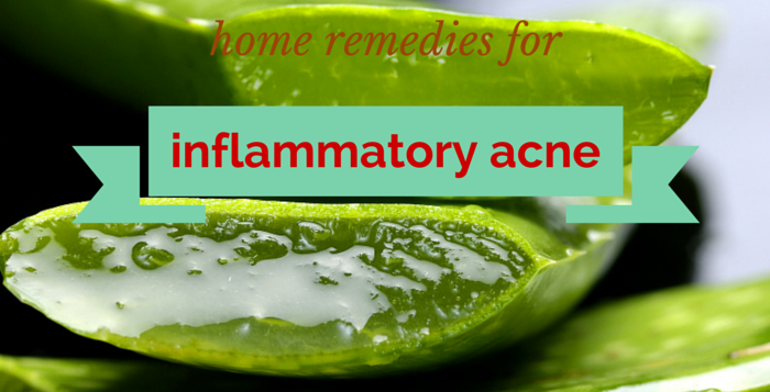 at home remedies for inflammatory acne