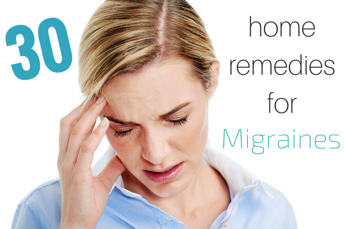 at home remedies for migraines