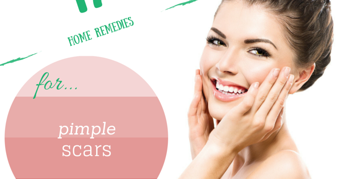 home remedies for pimple scars