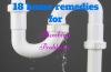 home remedies for plumbing problems
