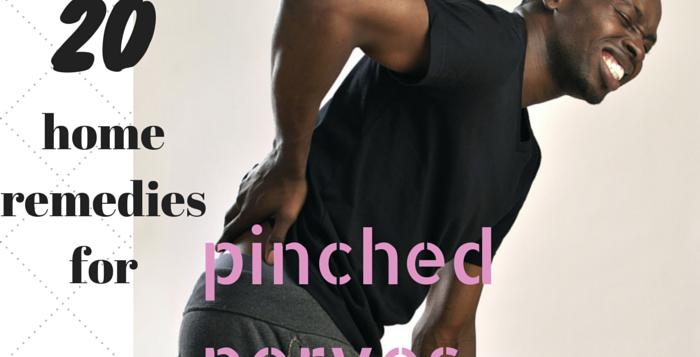 home remedies for pinches nerves