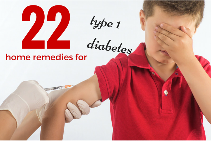 home remedies for (type 1) diabetes