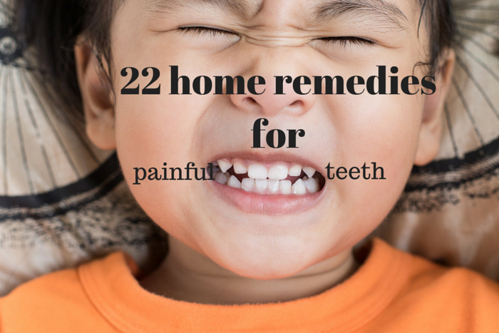 at home remedies for painful teeth