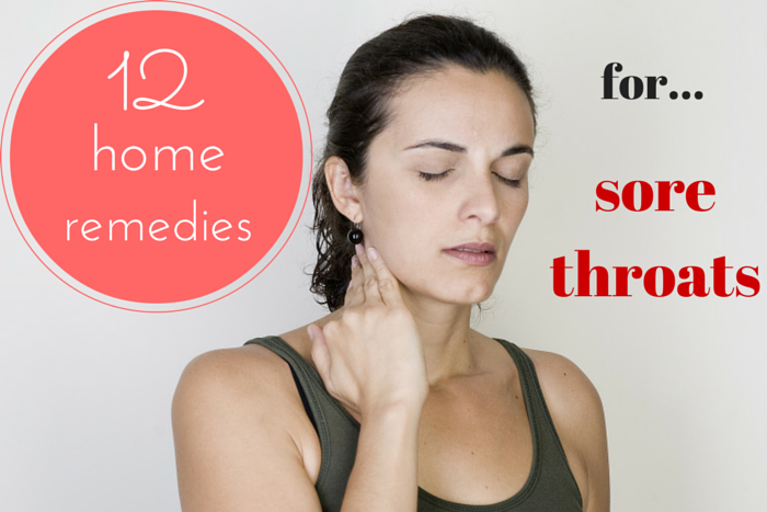 remedies for a sore throat