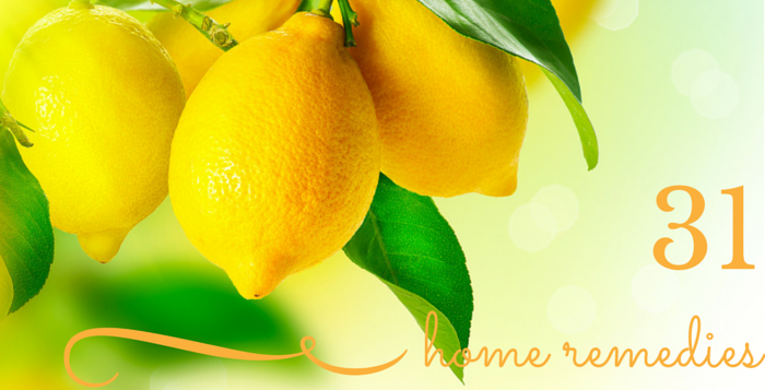 home remedies using lemons