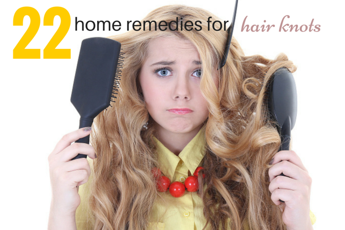 home remedies for removing knots from your hair
