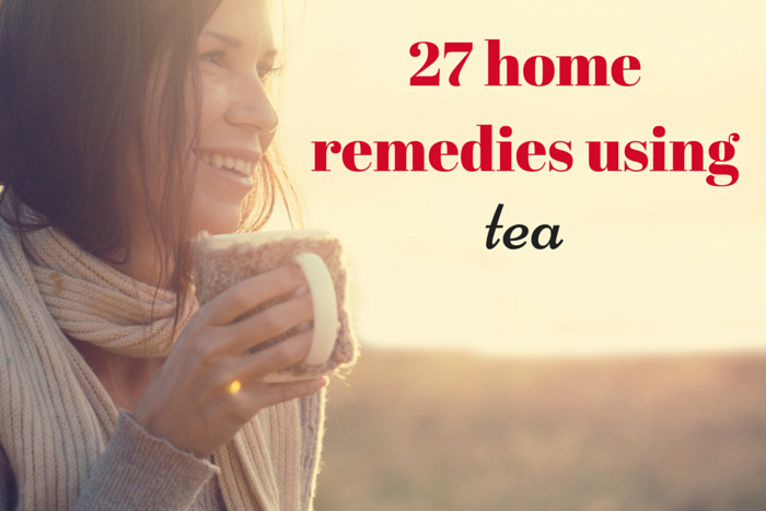 home remedies using tea
