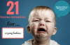 home remedies for crying babies