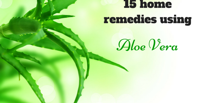 at home remedies using aloe vera plant