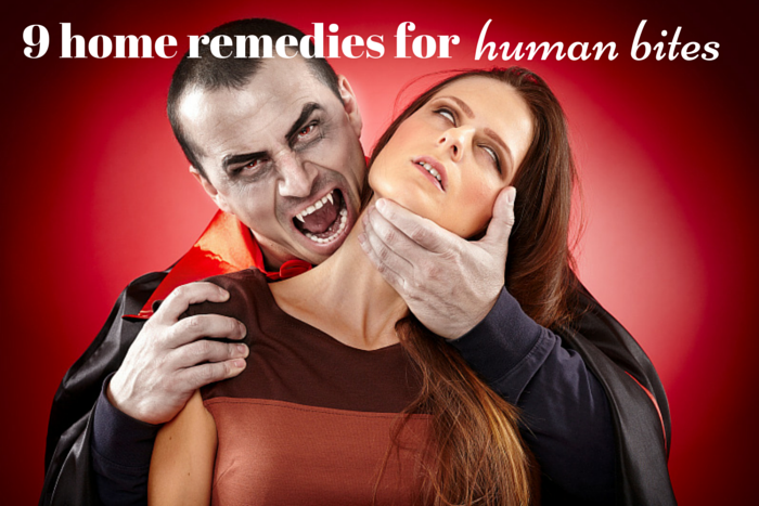 home remedies for human bites