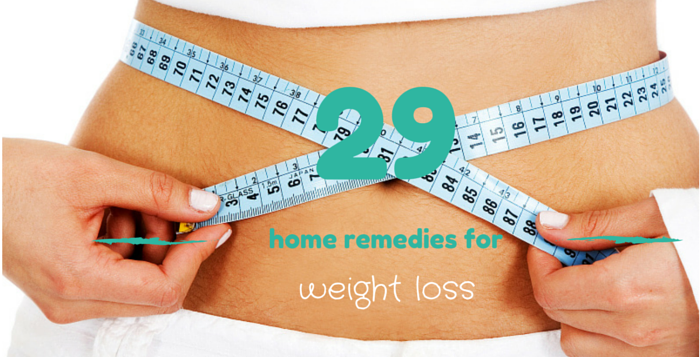 home remedies weight loss